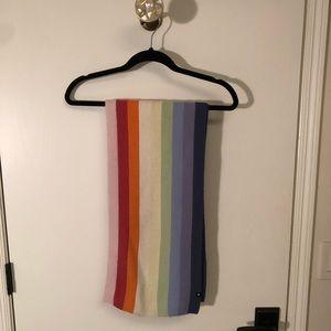 Gap rainbow lambs wool scarf
